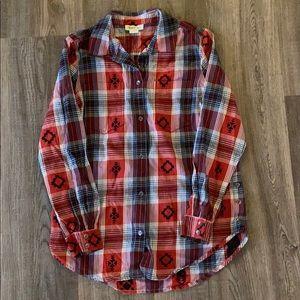 Ariat Long Sleeve Plaid Shirt